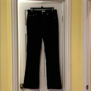 EUC Calvin Klein black corduroys, SZ 8. Super soft